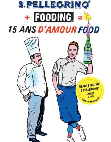 Grand fooding San pellegrino