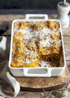 Lasagnes d'automne à la courge butternut (recette végétarienne)