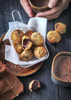 Croquettes au chocolat et piment d'Espelette