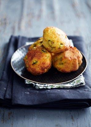 Mini-cakes courgette-parmesan