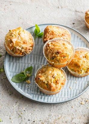 Mini-cakes aux brocolis