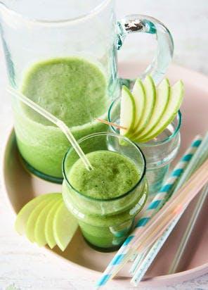 """Mocktail """"Green mix"""" pommes-kiwi"""