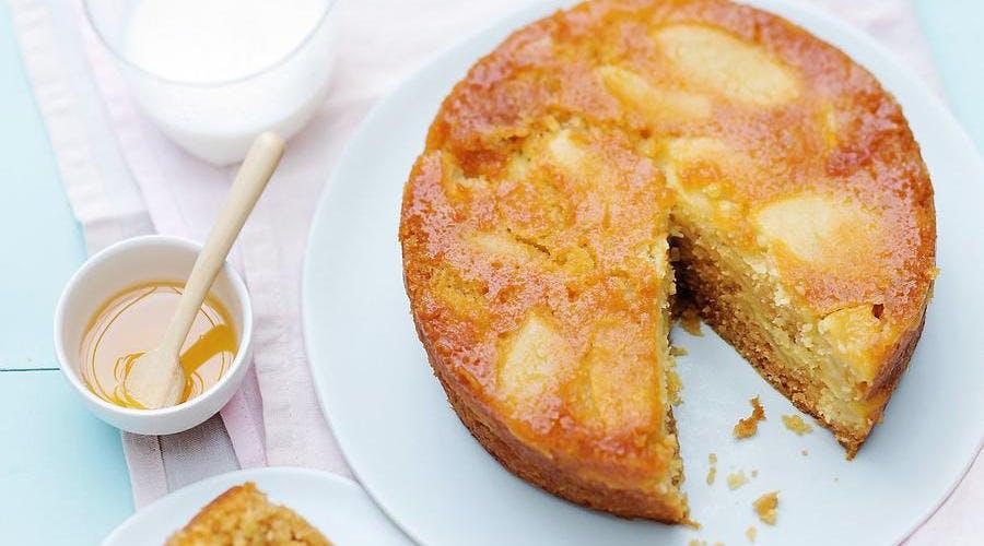 Gâteau vapeur aux pommes et sirop de Liège
