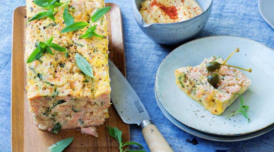 Pain de saumon et graines de fenouil
