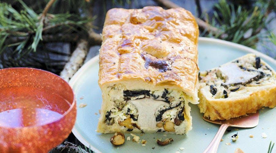 Gâteau aux cèpes de Régis Marcon