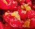 Le soufflé rhubarbe et framboise