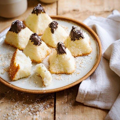 Pyramides coco-chocolat