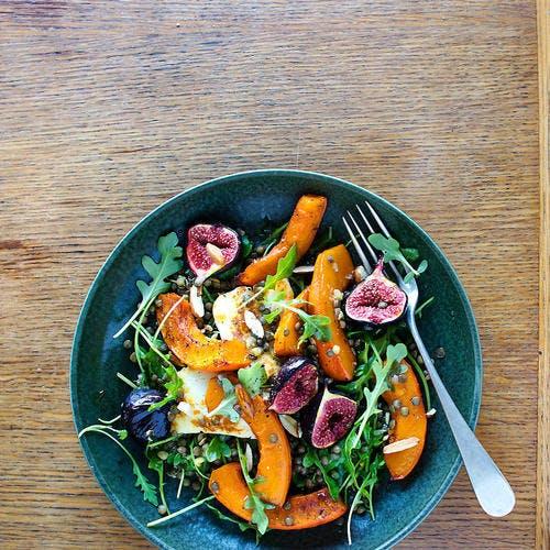 Salade de lentilles : recette automnale