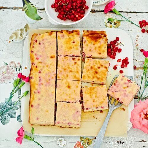 Cheesecake aux groseilles