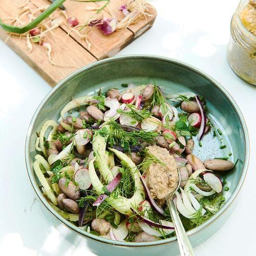 Salade été indien
