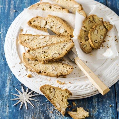 Biscuits croquants aux amandes (mandelbrot)