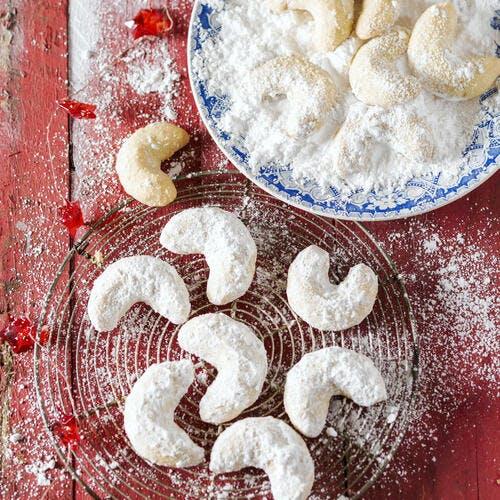 Biscuits sablés à la vanille (kipferl)