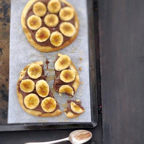 Pizza nutella-bananes