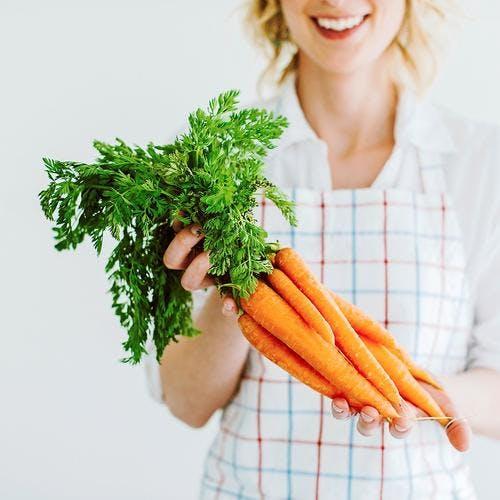 La carotte, si facile à rendre aimable