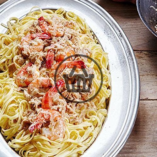 Linguine aux crevettes et thon | Simple & Bon