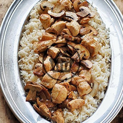Riz pilaf poulet champignons | Simple & Bon