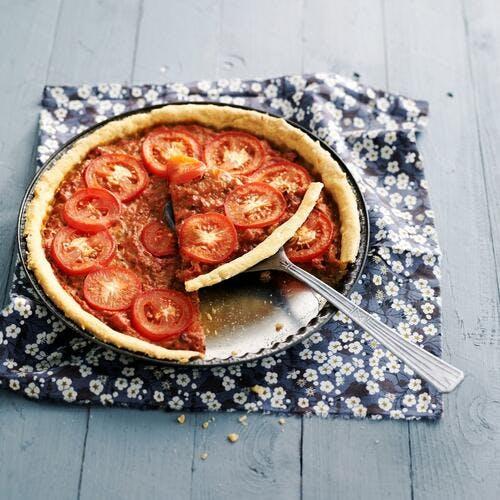 Tarte tomate et thon