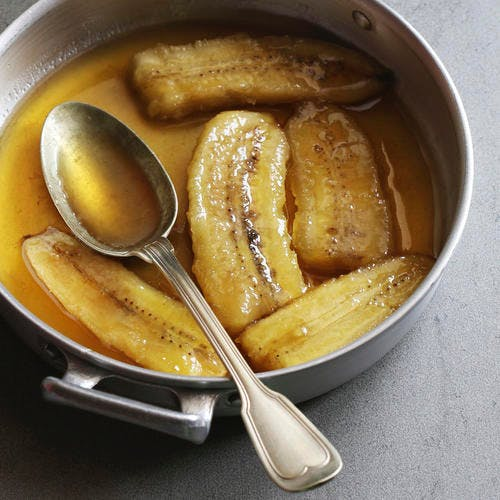 Bananes flambées