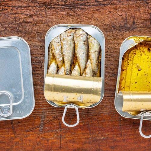 Boîte de sardines