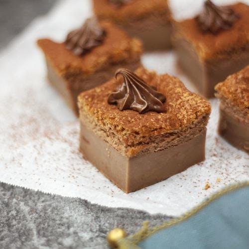 Gâteau magique au chocolat