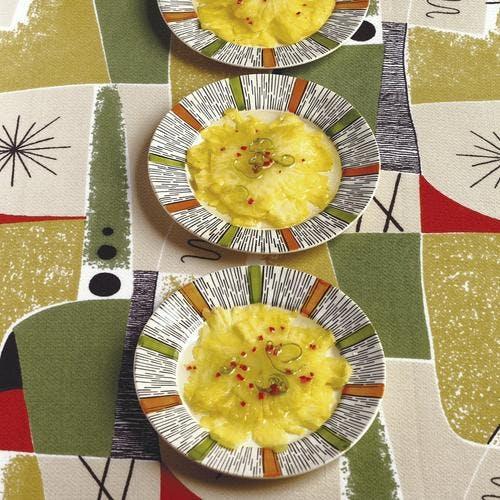 carpaccio d'ananas au piment d'espelette