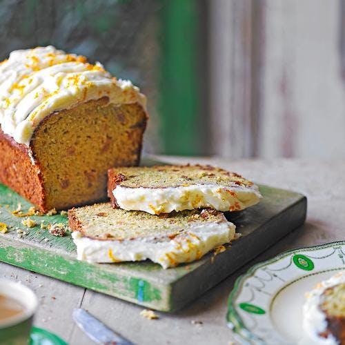 gâteau glacé orange-courgette