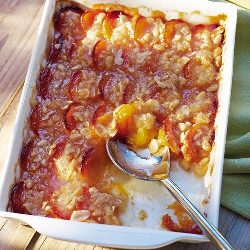 Tian d'abricots rouges du Roussillon AOP aux amandes et pignons