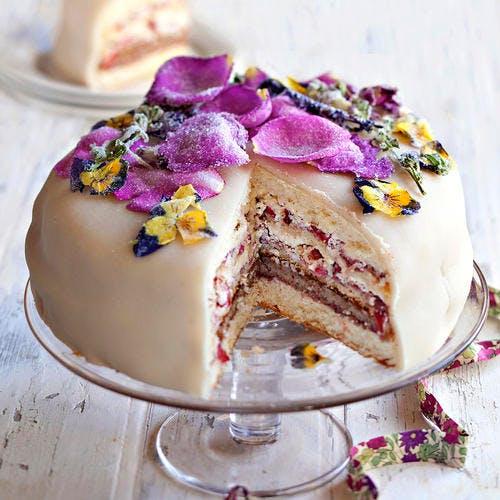 Gâteau de rêve aux fraises