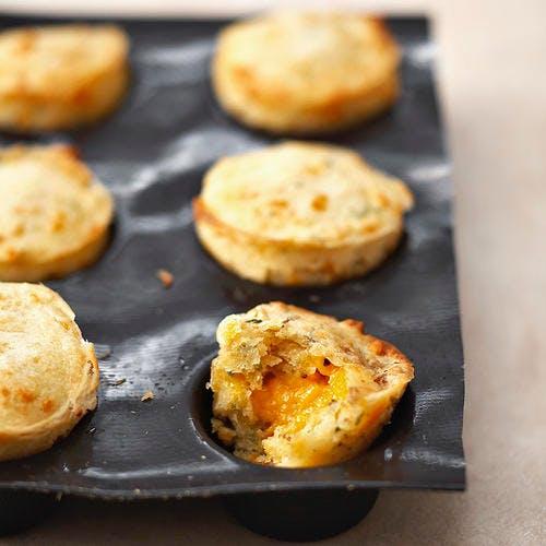 Muffins à la mimolette