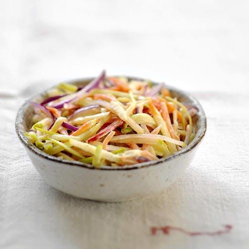 Coleslaw aux pommes