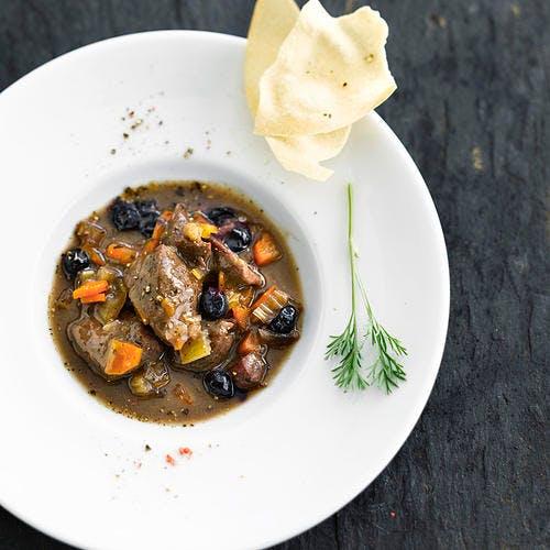 Ragoût de bœuf aux olives