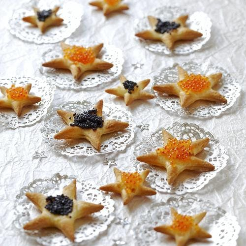 Biscuits apéritif étoilés