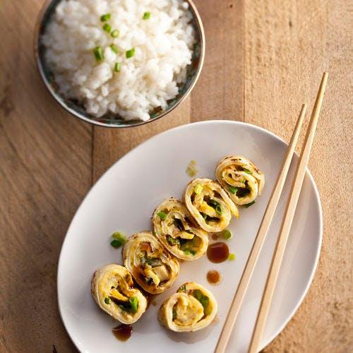 Dan bing - Crêpes chinoises aux œufs et à l'oignon