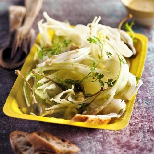 Salade de fenouil sauce à l'anchois