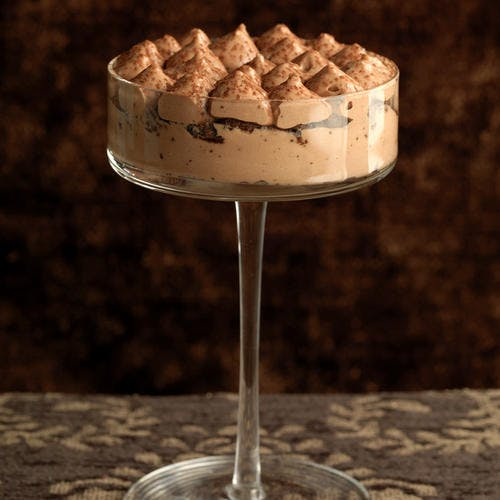 Tiramisu au chocolat et au brownie