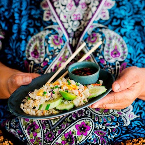 Khao phat (riz frit thaïlandais)