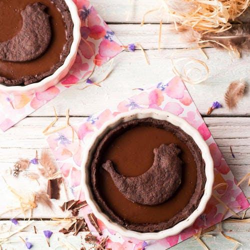 Tartelettes tout chocolat