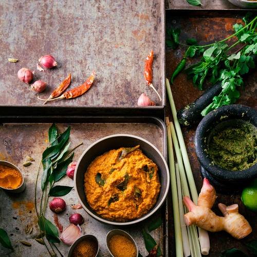 3 recettes de pâtes de curry maison