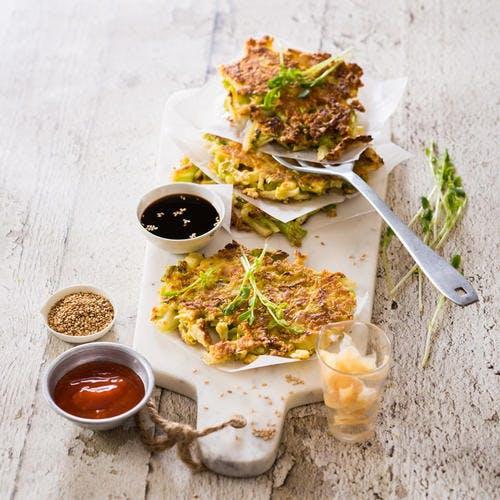 Okonomiyaki (galette de chou japonaise)
