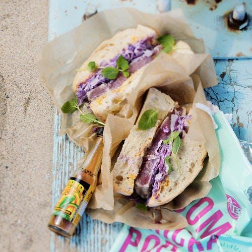Sandwich de thon façon tonkatsu