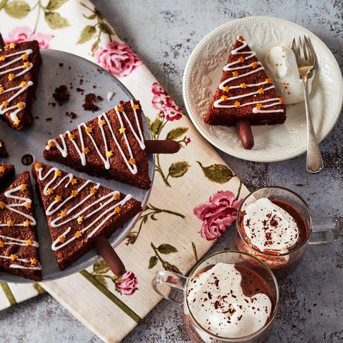 Brownies sapins de Noël