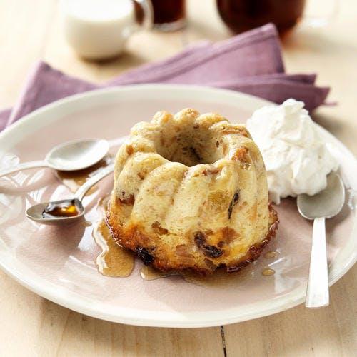 Pudding aux fruits moelleux et au rhum