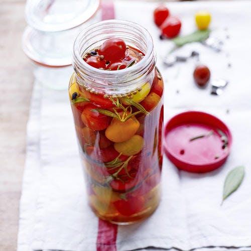 Pickles de tomates de nos régions