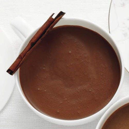 Chocolat à la cannelle caramélisée