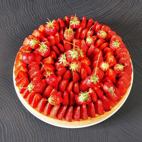 La tarte aux fraises de Guy Savoy