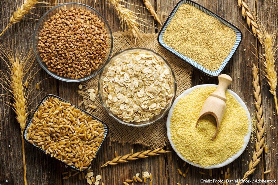 Céréales variées