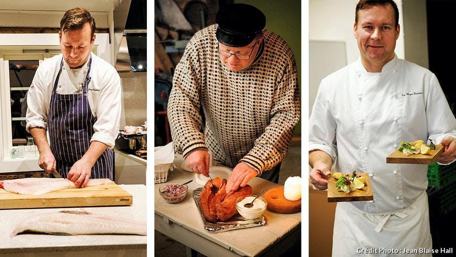Des chefs cuisiniers norvégiens