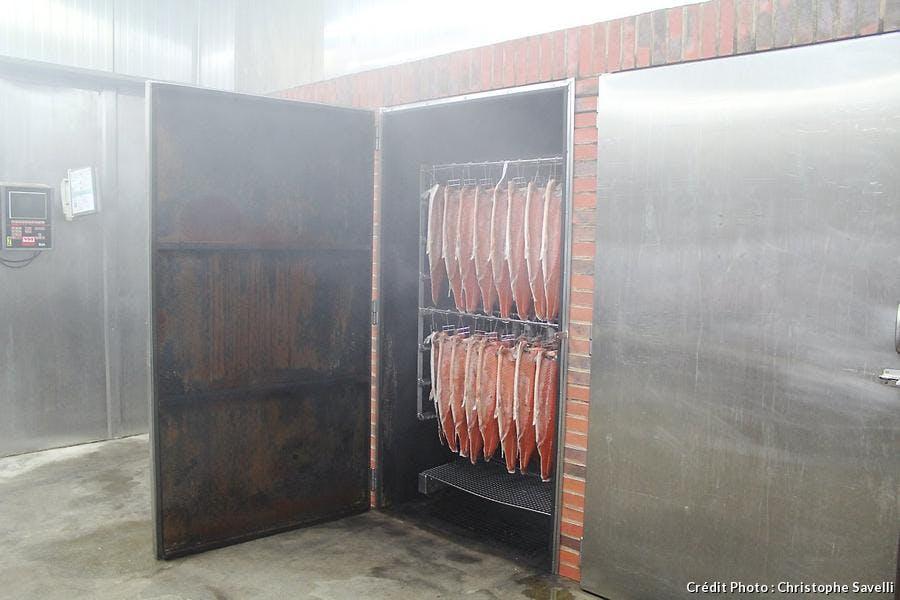Séchage du saumon