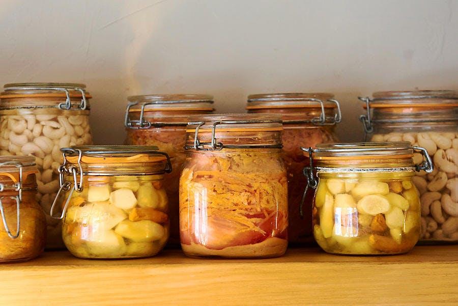 Bocaux - fermentation