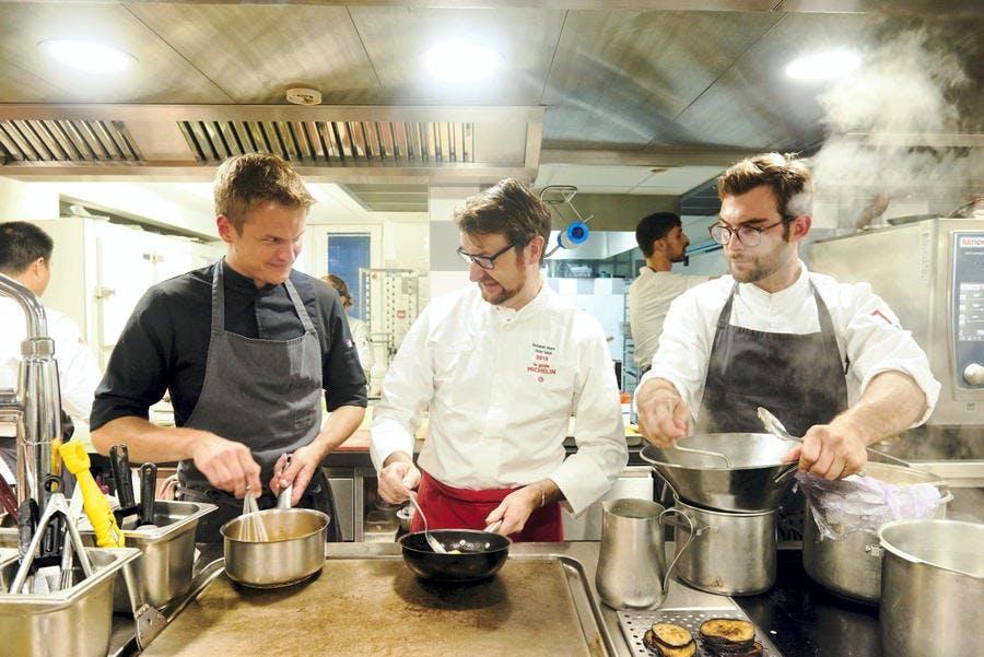 Cuisine de chef au Pays Basque